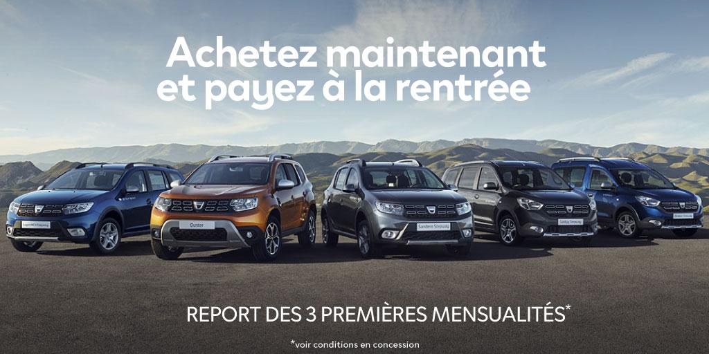 Jours Eco G Dacia