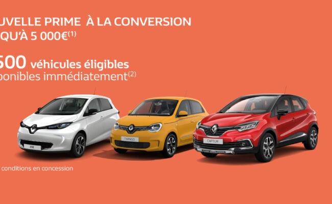 Prime à la conversion Renault