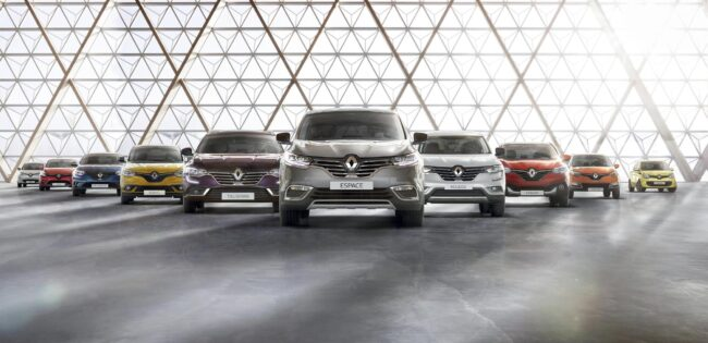 voiture d'occasion Renault