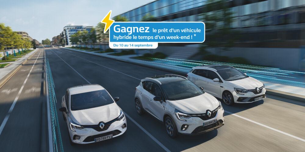 Lyon Renault Hybride Jeu Concours