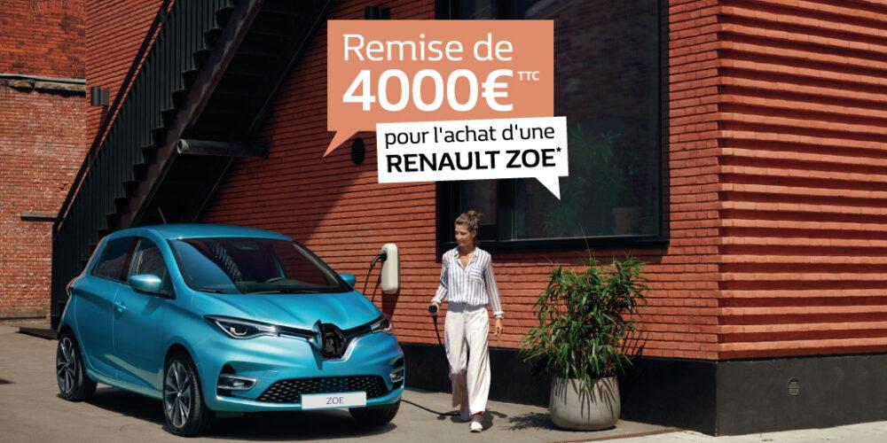 Déstockage remise Renault ZOE