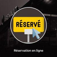 Renault réservation en ligne